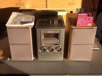 Sony Micro Hi-Fi Component System For Sale