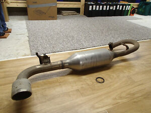 Exhaust Muffler, Pipe and Baffle OEM - Scion tC 2014