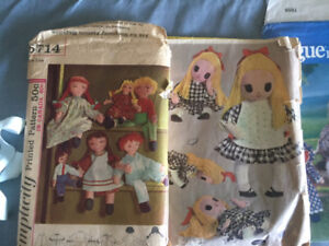 Sewing patterns - home decor, clothes, quilting, stuffed dolls