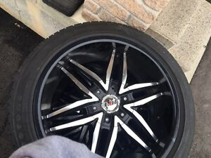 20inch NEWS rims and tires