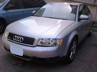 2003 Audi A4 1.8T Turbo 4 Sedan $4500