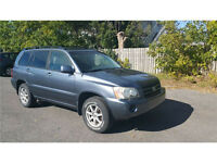 2005 Toyota Highlander Great Car...It's good only for Export