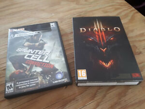 Diablo 3 et splinter cell conviction