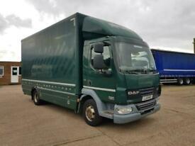 DAF LF45-140, 2012, 4x2, 18ft Box Body Truck, 413000 kms, 7.5 Ton