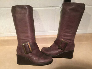 Women's Tall Brown Boots Size 6.5
