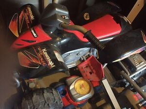 Battery operated four wheeler