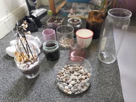 plant pot glass jar flower vase