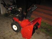Souffleuse Toro (10 hp / 28 po) starter électrique + lumière
