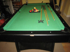 POOL TABLE (with also Ping Pong Table top too)