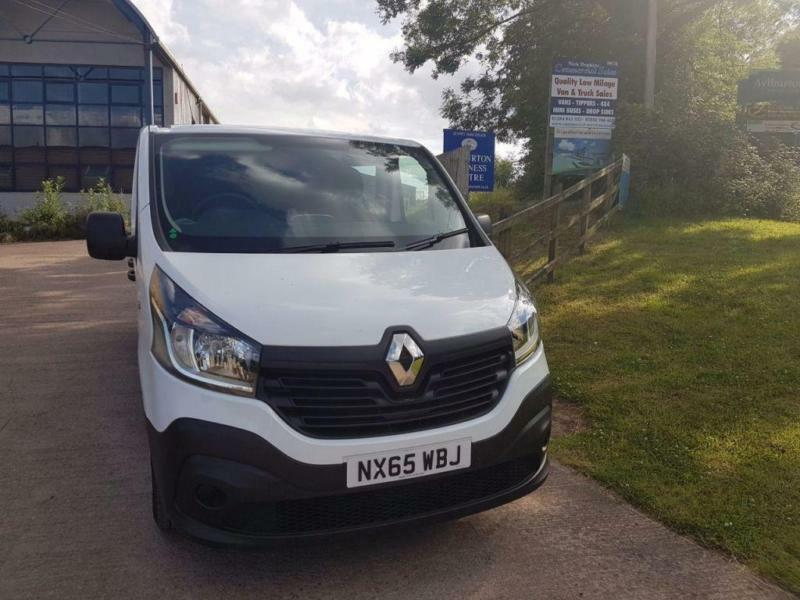 2015 65 RENAULT TRAFIC 1.6 LL29 BUSINESS DCI S/R W/V 1D 115 BHP DIESEL