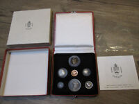 1967 Canada Centennial Silver Coin and Medal Set with papers