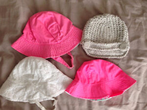 Girls sunhats and toque