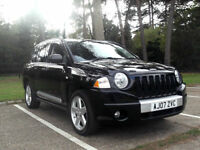2007 07 FULLY LOADED JEEP COMPASS 2.0 CRD LIMITED 4WD NOT CHEROKEE PX SWAP