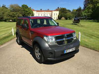 2007 (57) DODGE NITRO 2.8CRD SE 4WD 6 SPEED TURBO DIESEL 70k