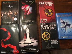 Twilight series & Hunger Game series