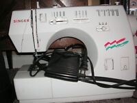 For Sale Snger Sewing Machine  -Portable - works good