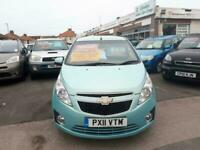 2011 Chevrolet Spark 1.0i LS 5-Door From £2,995 + Retail Package HATCHBACK Petro