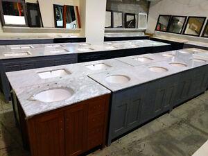 Hardwood constructed Vanities - open box / scratched Edmonton Edmonton Area image 3