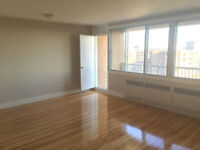 Large 3 1/2 spacious, great view, in Cote saint luc, pet allowed