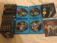 Bluray Harry Potter years 1-8 8 movie box sets BLU-RAY blu ray E