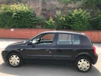 Renault Clio 1.2 Authentique 2004 +99K + tested till end of the year