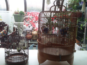 Hand made Bamboo bird cage