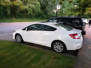 2012 Honda Civic EX w/ leather seats 48000km