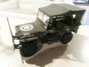 Solido 1/18th Willys Jeep