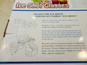 Two New Sets of Ice Shots Shooter Glass makers - Made with water Kitchener / Waterloo Kitchener Area image 5