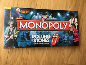 "Rolling Stones ""Monopoly"" (board game)  New & Sealed (2010)"