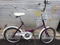 Universal Stowaway 3 folding bicycle