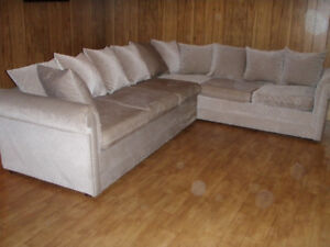 Sectional couch/sofa bed