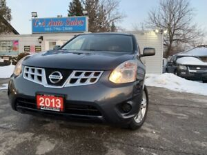 2013 Nissan Rogue FWD 4dr low km accident free back up camera