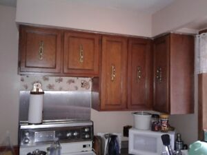 Used wood kitchen cabinets for sale