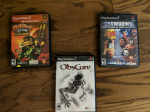 PS2, PS3, and Wii Video Games for Sale or Trade