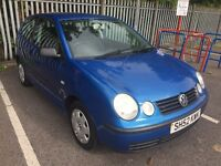 VW Polo 1.2 Petrol 3Dr 2002 Long MOT CAT D
