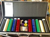 Poker set in excellent condition.