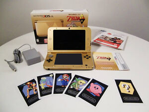 3DS XL Édition limitée Zelda Link Between Worlds avec jeu inclus