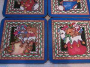 Pimpernel Lucy Rigg Christmas Teddy Bears Coasters, England Kitchener / Waterloo Kitchener Area image 5