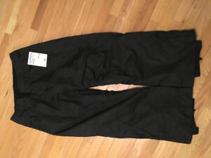ski jacket and pants, women size XL