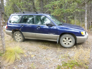 2001 Subaru Forester for sale.