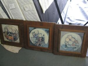G. Rocko Boulanger Lithograph wood frame three to choose from