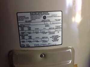 Hot water heater (electric)