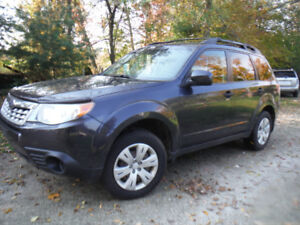2011 Subaru Forester X  Mint Cond. CERTIFIED !