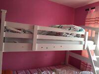 Joseph bed frame with memory matress