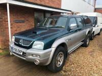 2005 Mitsubishi L200 2.5 TD 4Life Double Cab COMPLETE WITH M.O.T AND WARRANTY