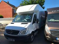 2010 MERCEDES BENZ SPRINTER 313 CDI Luton With A Tail Lift