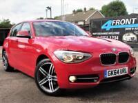 2014 BMW 1 SERIES 116I SPORT 5DR AUTOMATIC PETROL HATCHBACK PETROL