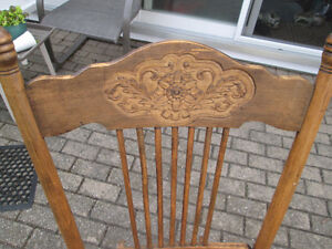 Vintage Rocking Chair Cambridge Kitchener Area image 2