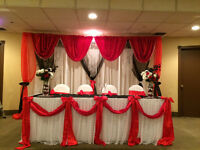 FULL SERVICE FOR YOUR WEDDING OR PARTY NEEDS